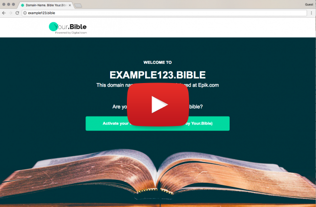 screencasts for your.bible